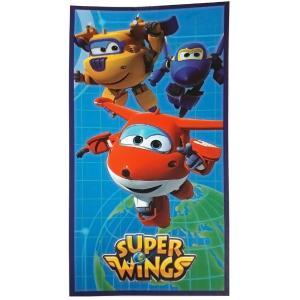 Πετσέτα Θαλάσσης Super Wings 70x140cm