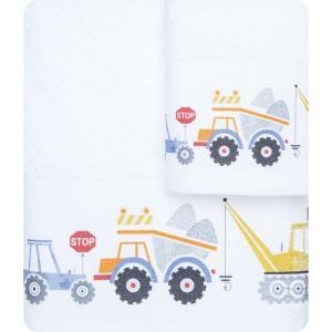 Πετσέτες Παιδικές Σετ 2 τμχ Borea Φορτηγά Π-12