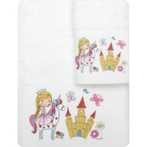 Πετσέτες Παιδικές Σετ 2τμχ Borea Λαίδη