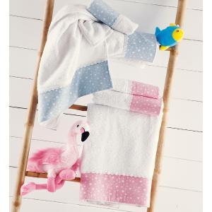 Πετσέτες Παιδικές Σετ 2τμχ Rythmos Galaxy Σιέλ