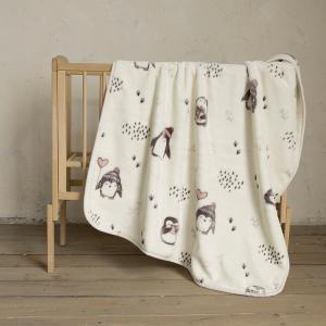 Κουβέρτα Βελουτέ Κούνιας 110x140cm Nima Pingui