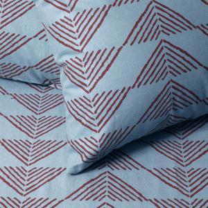 Φανελένιες Μαξιλαροθήκες Ζεύγος 50x70cm Melinen Prado Jean