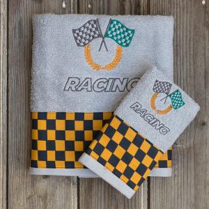 Πετσέτες Παιδικές Σετ 2 Τεμάχια Kocoon Racing Βαμβακερές