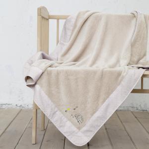 Κουβέρτα Αγκαλιάς 80x110cm Nima Riccio
