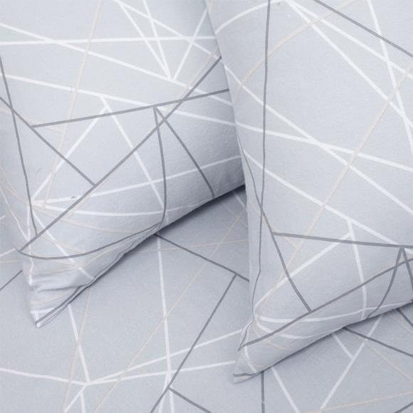 Φανελένια Σεντόνια Υπέρδιπλα Σετ Με Λάστιχο 160x200+30cm Melinen Roots