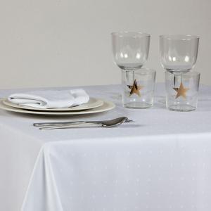 Τραπεζομάντηλο Φαγητού Ισπανίας 160x160cm Saten Table Blanco