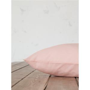 Μαξιλαροθήκες Ζεύγος 52x72cm Nima Unicolors Dusty Rose