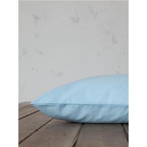 Μαξιλαροθήκες Ζεύγος 52x72cm Nima Unicolors Sky Blue