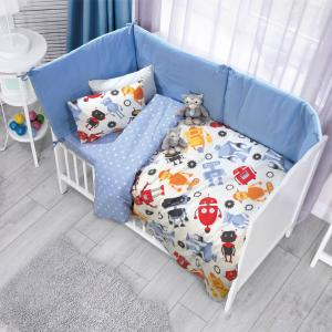 Σεντόνια Κούνιας Σετ 120x170cm Das Home Baby Fun 6520