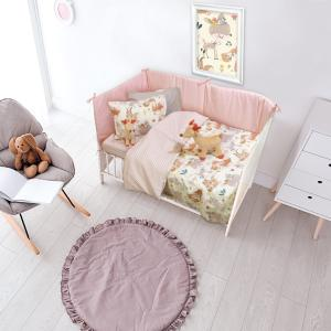 Σεντόνια Κούνιας Σετ 120x170cm Das Home Baby Fun 6553