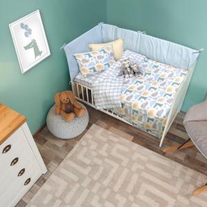 Σεντόνια Κούνιας Σετ 120x170cm Das Home Baby Fun 6555