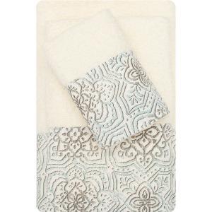 Πετσέτες Σετ 3τμχ Borea 53510 Εκρού