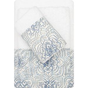 Πετσέτες Σετ 3τμχ Borea 53510 Λευκό