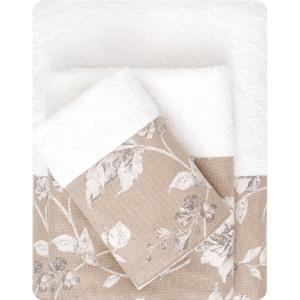 Πετσέτες Σετ 3τμχ Borea 53511 Λευκό