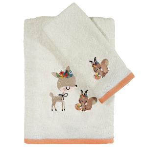 Πετσέτες Βρεφικές Σετ 2τμχ Κεντητές Das Home Baby Fun Emb 4702