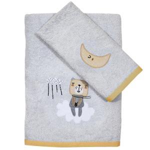 Πετσέτες Βρεφικές Σετ 2τμχ Κεντητές Das Home Baby Fun Emb 4703