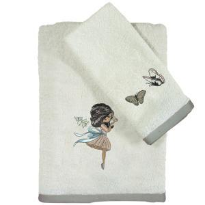 Πετσέτες Βρεφικές Σετ 2τμχ Κεντητές Das Home Baby Fun Emb 4705