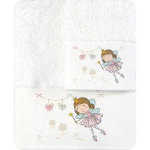Πετσέτες Παιδικές Σετ 2τμχ Borea Νεραϊδούλα