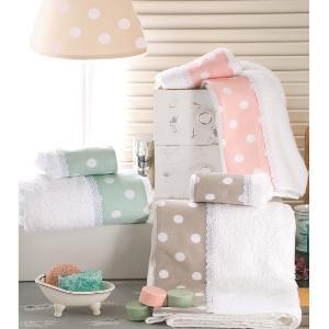 Πετσέτες Παιδικές Σετ 2τμχ Rythmos Soft Πράσινο