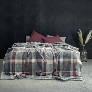 Κουβέρτα Μονή Βελουτέ 160x220cm Nima Terrene