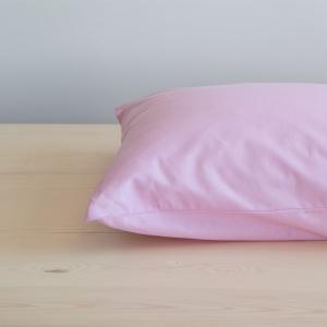 Μαξιλαροθήκες Ζεύγος 52x72cm Nima Unicolors Light Pink