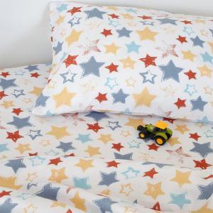 Σεντόνι Βρεφικό Λίκνου 85x110cm Melinen Star Boy