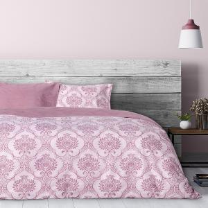 Κουβερλί Υπέρδιπλο 220x240cm Kocoon Victoria Pink Βαμβακερό