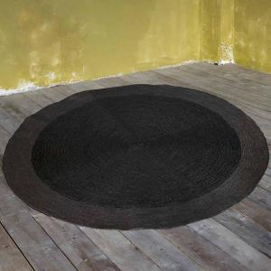 Στρογγυλό Χαλί Καλοκαιρινό Φ120 Nima Deco Carpets Bergen Grey